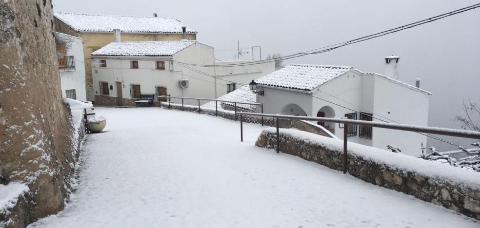 Nieve y complicaciones en las carreteras