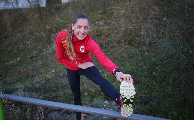 Ainhoa Pinedo bate el récord de España de 35 kilómetros marcha en Algeciras