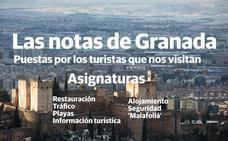 A los turistas no les convence la tapa de Granada