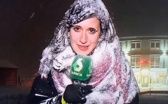 Los periodistas españoles que se juegan su salud y se congelan por la noticia
