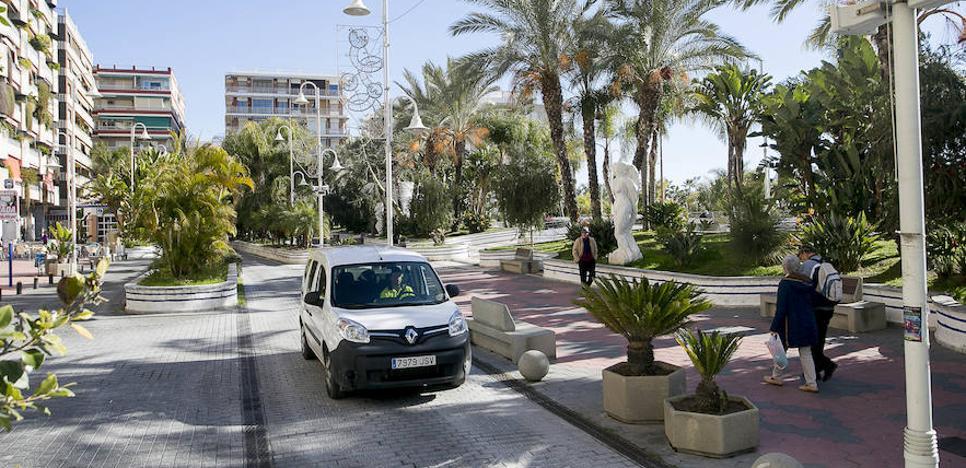 El paseo del Altillo de Almuñécar afronta su segunda gran reforma once años después