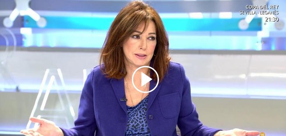 """""""Es un disparate"""": indignación de Ana Rosa Quintana por el trato a Juana Rivas"""