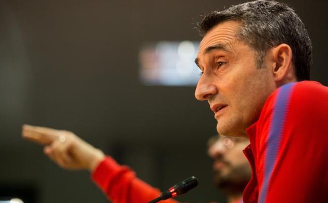 Valverde no descarta a Piqué para Mestalla