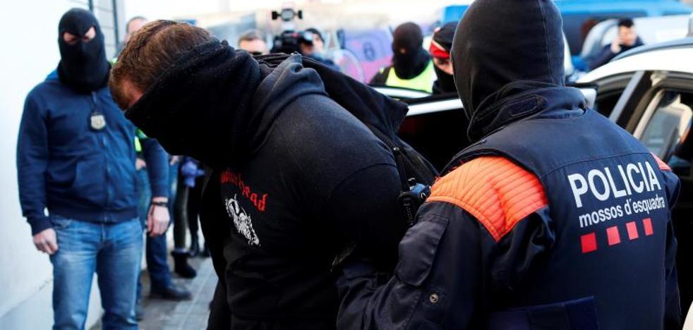 Detenidas 16 personas en la operación de los Mossos contra la banda motera 'Hells Angels MC'