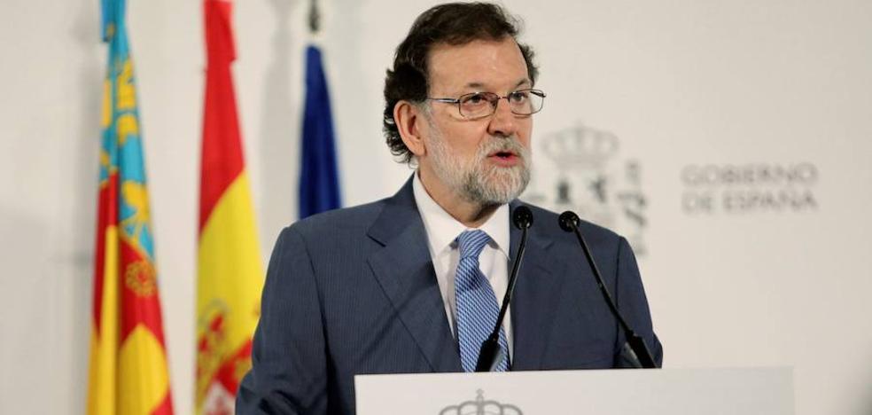 Rajoy apuesta por una alternativa constitucionalista en Cataluña: «La puede y la debe haber»