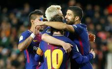 El Barça no falta a su cita con la final de la Copa