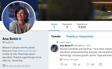 ¡Welcome to Twitter, Ana Botín!