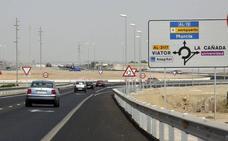 La carretera del Aeropuerto a Retamar tendrá firme nuevo