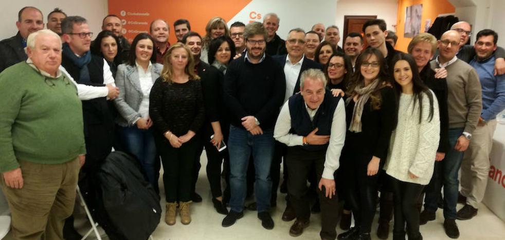 """Cs afirma """"no tener techo"""" en 2019 y aspira a gobernar """"un elevado número"""" de municipios de Granada"""