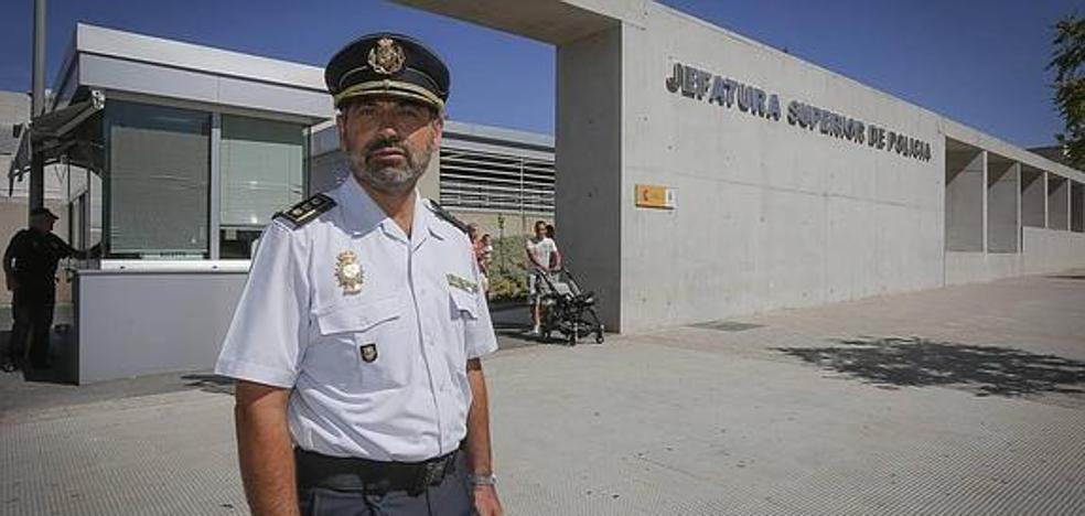 Jesús Redondo Sanz, nuevo Jefe Superior de Policía de Andalucía Oriental