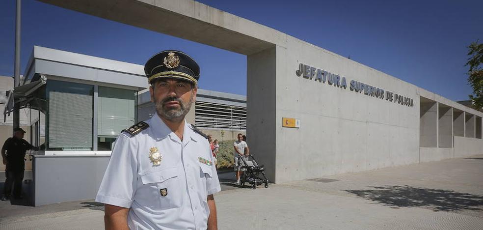 Jesús Redondo, nuevo jefe superior de Policía de Andalucía oriental