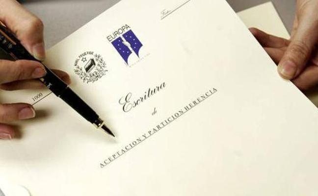 Los jienenses renuncian a una de cada siete herencias que se firman