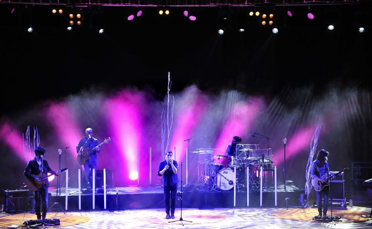 Las imágenes del concierto
