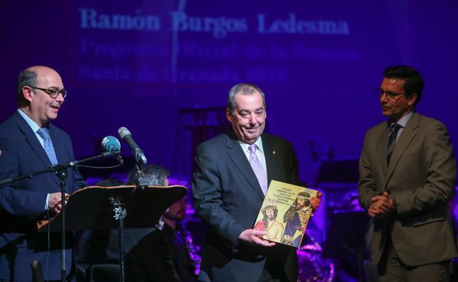 Ramón Burgos ya tiene las cubiertas para su pregón del primer domingo de Cuaresma