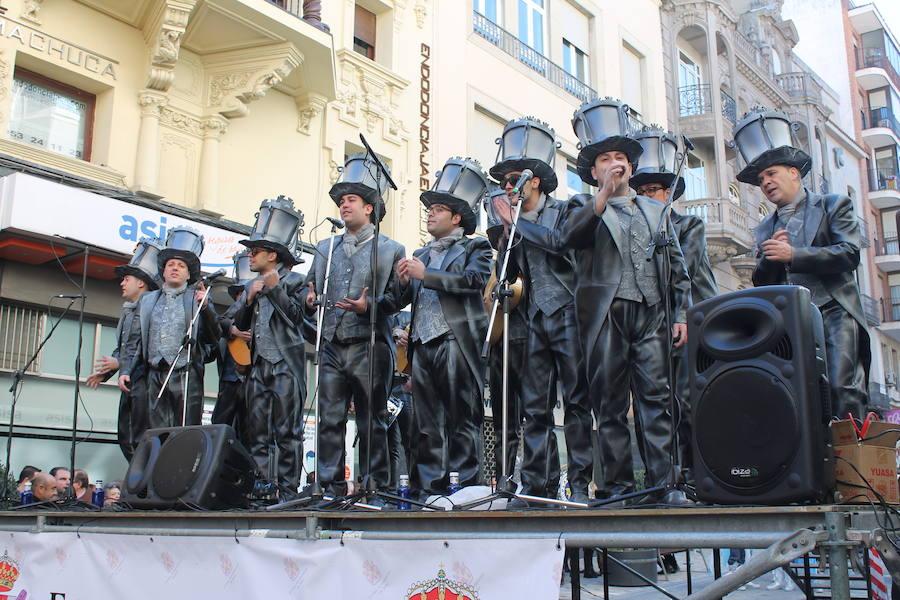 El carnaval sale a las calles de Jaén