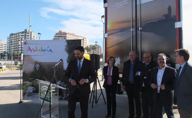 Camiones de Almería publicitan el destino turístico por toda Europa