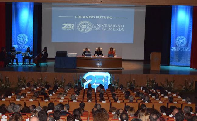 Homenaje al personal de la Universidad de Almería en su 25 aniversario