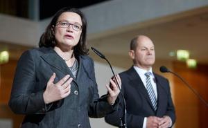 Schulz dimite como presidente de SPD y dirección propone a Nahles de sucesora