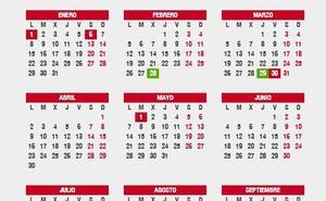 ¿Cuándo cae la Semana Santa de este año? Puentes y festivos del calendario laboral 2018