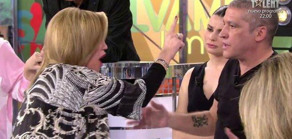 La bronca de Belén Esteban por defender a Andrea en 'Sálvame'