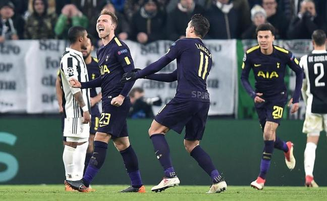 Alarde de madurez del Tottenham ante la Juventus
