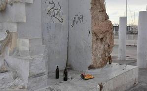 Almería sufre un nuevo ataque vandálico: ahora Mauthausen