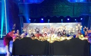 Drag Sethlas repite polémica en el Carnaval de Las Palmas con «La Última Cena» de Jesús