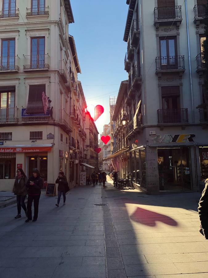 Los mejores escaparates de Granada por San Valentín