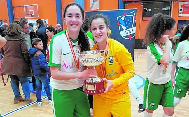 La nijareña Nerea y la ejidense Sandra son campeonas de España