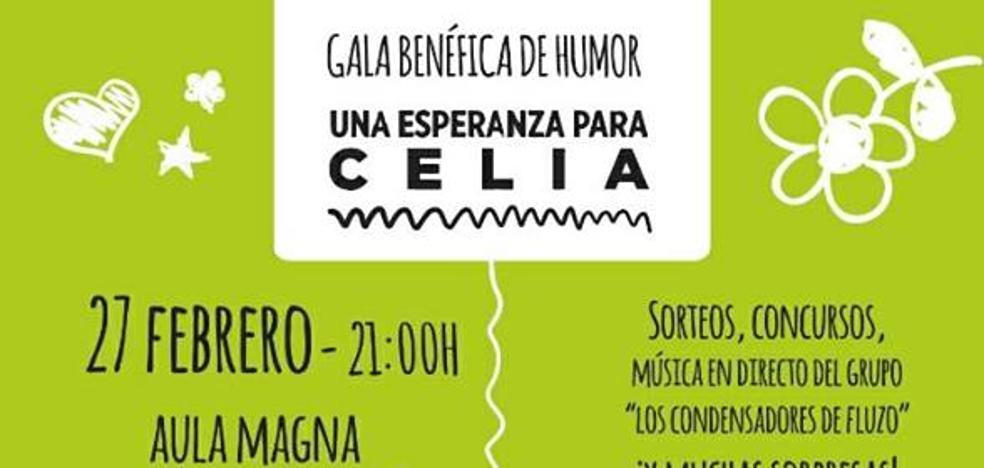 Gala de humor a favor de Celia, la niña jienense que sufre una enfermedad rara