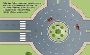 El aviso de la Guardia Civil que recuerda cómo se deben tomar correctamente las rotondas