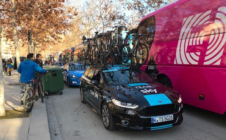La Vuelta a Andalucía desembarca en Granada