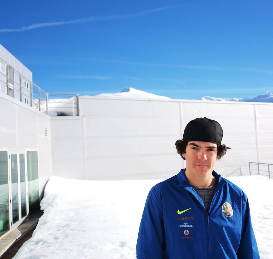 Regino Hernández, un bronce olímpico fraguado en Sierra Nevada