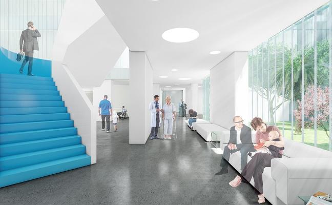 La nueva puerta principal de Torrecárdenas estará lista en la primavera del próximo año