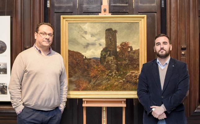 Museo Doña Pakyta acoge 'Ruinas al atardecer', de Antonio Muñoz Degrain