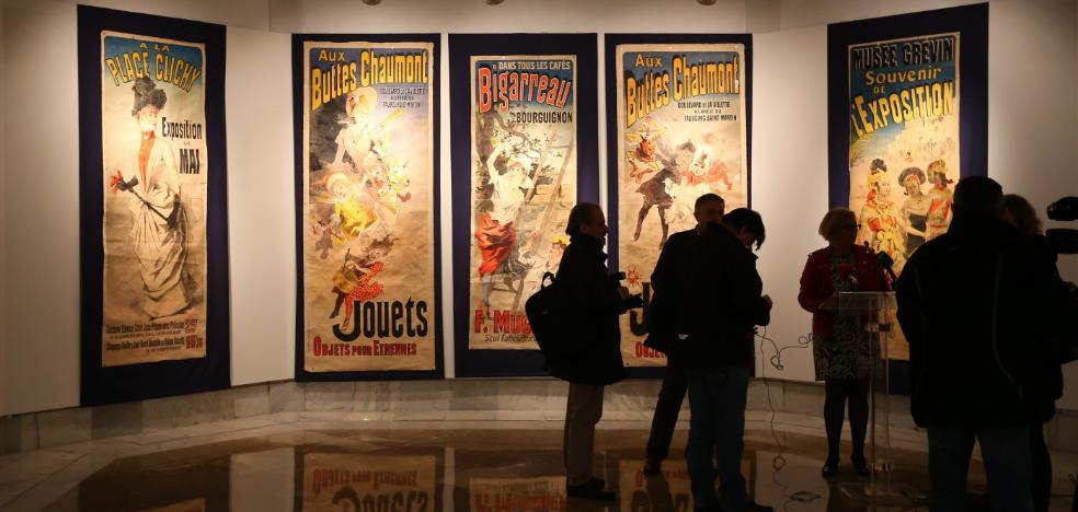 El Centro Gran Capitán expone la colección de carteles de la Belle Époque de los Zuloaga