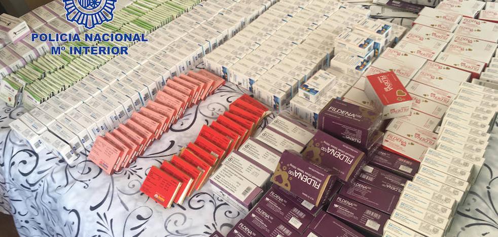 Un detenido en Motril en la mayor red de venta ilegal de medicamentos por internet