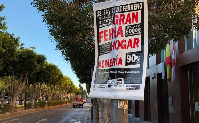 Expediente a la Feria Hogar Factory por poner carteles en sitios «no autorizados»