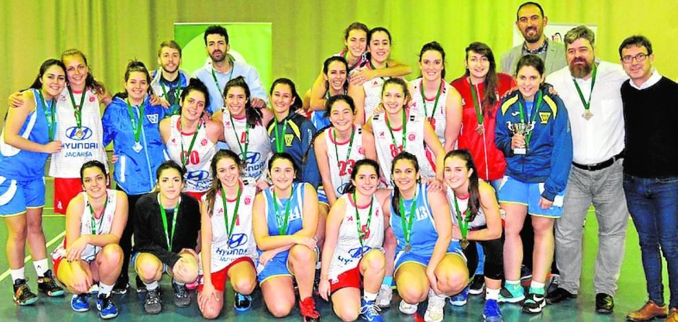 El Jaén CB se proclama campeón provincial femenino ante el CB Toxiria
