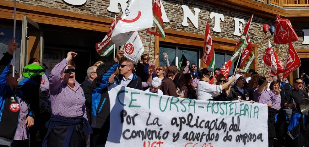 Trabajadores de Cetursa mantienen el paro de mañana con la estación al 90%