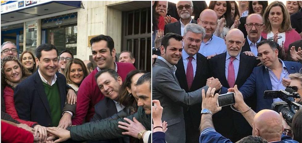 Dos fotos, diez meses y una crisis