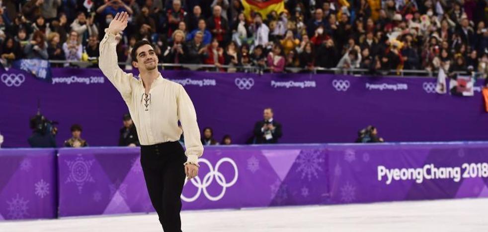 El Rey felicita a Javier Fernández: «Tu arte y talento siguen superando límites»