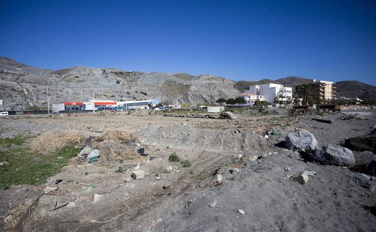 Así es la zona en la que estará la 'nueva playa de Granada'