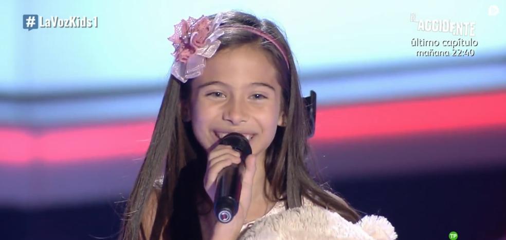 La impresionante voz lírica de una niña sorprende en 'La Voz Kids'