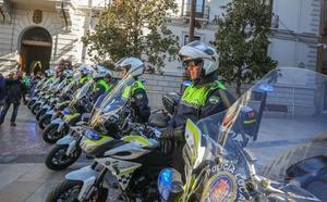La Policía Local de Granada renueva el parque de motocicletas