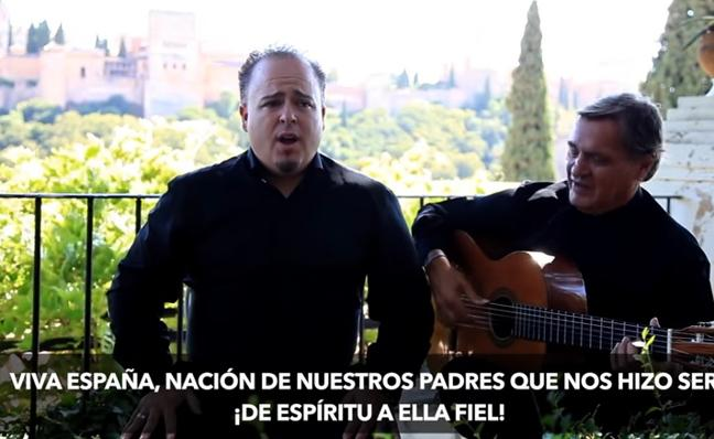 Los granadinos que se adelantaron a Marta Sánchez: así era su letra para el himno de España