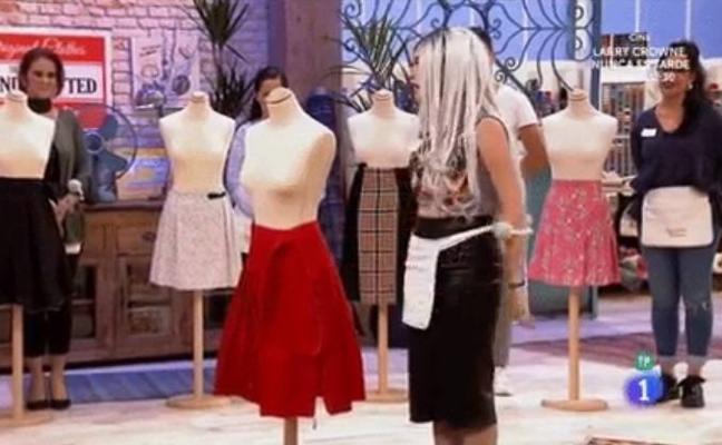 La granadina Mahi, la favorita del público en 'Maestros de la Costura'