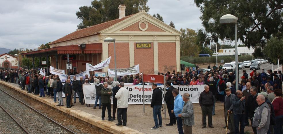 Casi un millar de fincas a expropiar entre Pulpí y Lorca para construir el AVE con Murcia