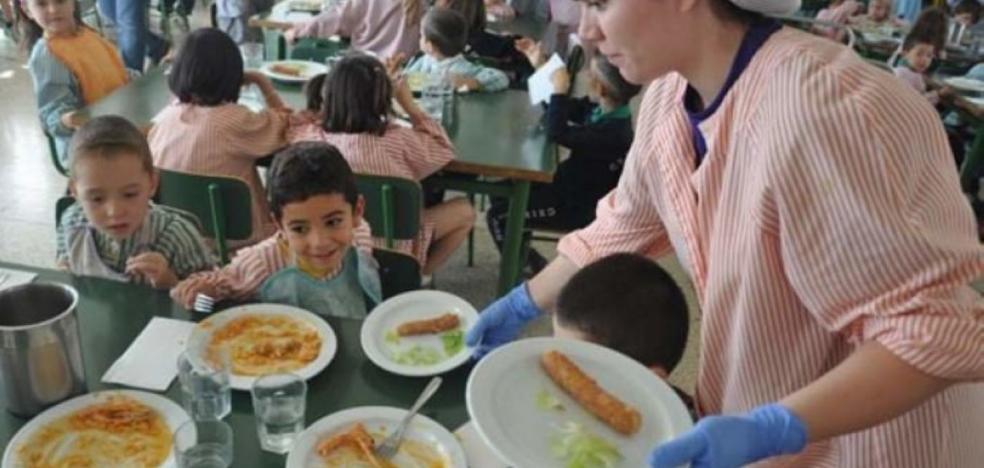 El 95% de los comedores escolares será de catering hasta el año 2020