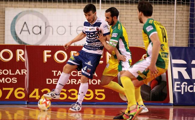 Mauricio abre las puertas de la final para el Jaén FS